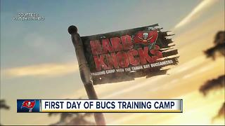 Confident Tampa Bay Buccaneers report for start of training camp - Video