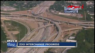One year away from Zoo Interchange completion - Video