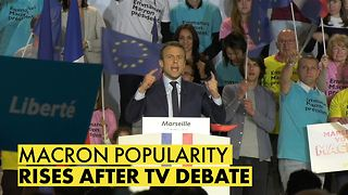 French Elections: Macron inching closer to Presidency - Video