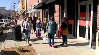Fewer crowds on Black Friday amid pandemic