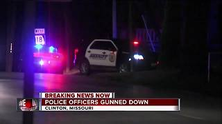 1 officer killed, 2 hurt in Missouri shooting - Video