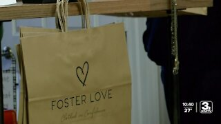 Foster mom shares love through clothing project
