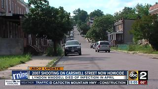 Shooting on Carswell Street in 2007 ruled a homicide - Video