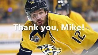 Predators' Mike Fisher Retires After 17 Seasons - Video