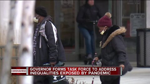 Governor forms task force to address inequalities exposed by pandemic
