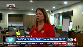 Cape Coral EOC prepares for Hurricane Irma - Video