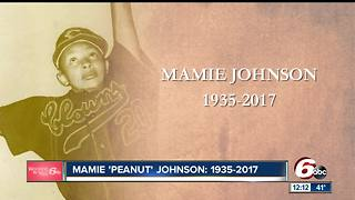 Indianapolis sports legend Mamie Johnson dies at age 82 - Video