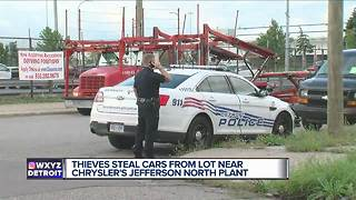 Thieves steal cars from lot near Chrysler's Jefferson North Plant