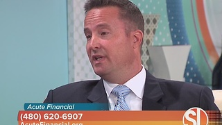 Acute Financial talks about the importance of saving for retirement - Video