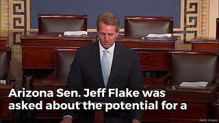 James Woods Lights Up Jeff Flake With Truth About GOP - Video