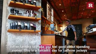 Where To Go For National Coffee Day | Rare News - Video