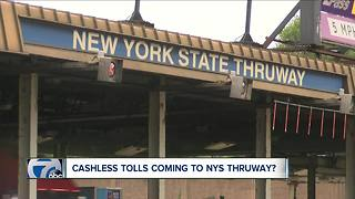 Cashless tolls coming to WNY? - Video