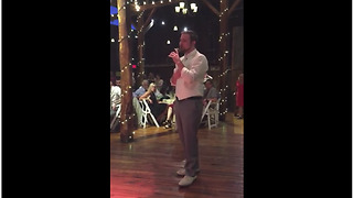 Groom Sings 'A Whole New World' To Bride At Their Wedding - Video