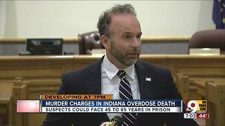 Murder charges in Indiana overdose death - Video