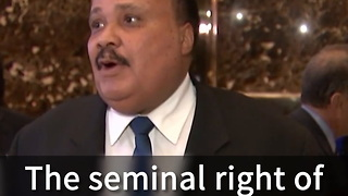 Martin Luther King III Had 'Very Constructive' Trump Meeting - Video