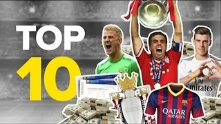 Top 10 Richest Football Clubs 2014 - Video
