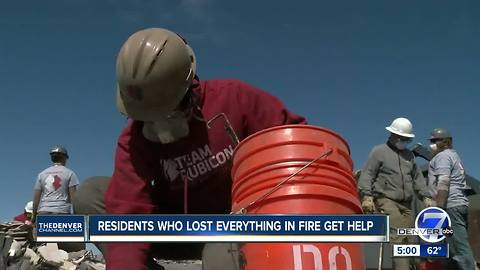 Task force comprised of mostly war veterans helps Elbert County wildfire victims