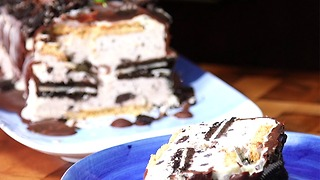Oreo Ice Cream Cake - Video