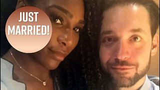Serena Williams has Beauty and the Beast-themed wedding - Video