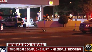 Police: Two dead, one hurt in Glendale shooting - Video