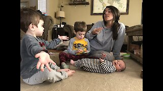 Young, Wild, Raising Three: A chaotic family parody