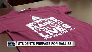 Local students prepare for nationwide