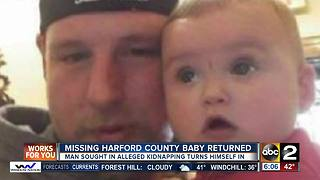 Missing Harford County baby returned - Video