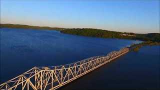 Kimberling City Bridge Closed Due to Rising Floodwaters - Video