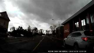Distracted Driver Nearly Causes Accident in California - Video