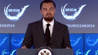 Leonardo DiCaprio pledge - Video