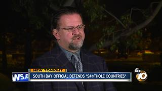 South Bay official defends President's