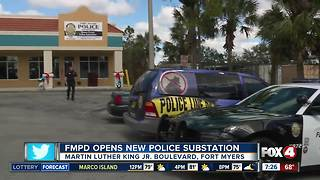 Fort Myers Police Department opens a new substation - Video