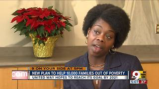 New plan to help 10,000 families out of poverty - Video