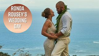 Ronda Rousey's wedding photos will make you cry - Video