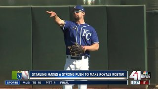 Healthy Bubba Starling turns head with strong spring