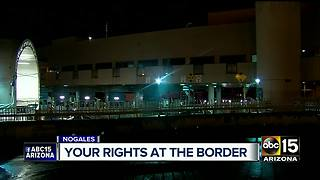 Can your phone LEGALLY be searched at the border? - Video