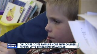 Child care costs families more than college
