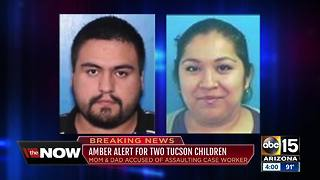 Amber alert issued for two missing Tucson children - Video