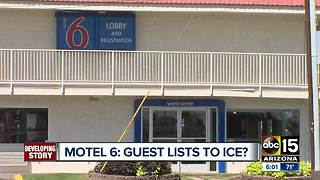 Motel 6 accused of handing over information to ICE in Washington - Video