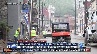 More rain, potential flooding focuses preparations in Ellicott City