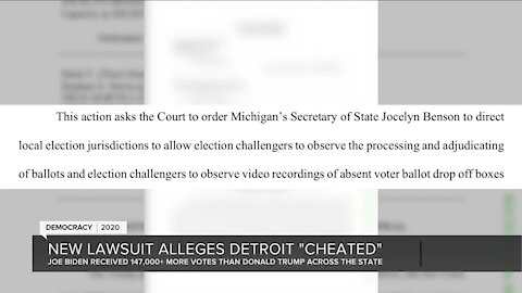 "New lawsuit alleges Detroit ""cheated"""