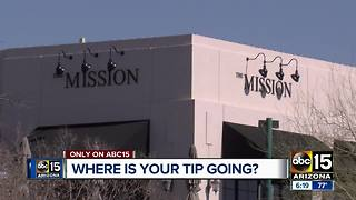 Should restaurants get a cut of employees tips? - Video