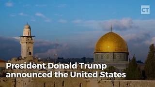 Trump Declares US Recognizes Jerusalem as Israel's Capital - Video