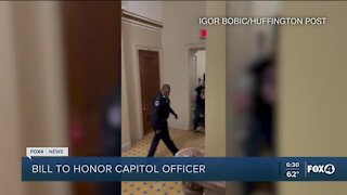 Bill to honor Capitol officer