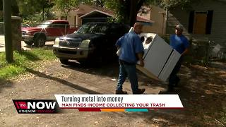 Turning metal into money - Video