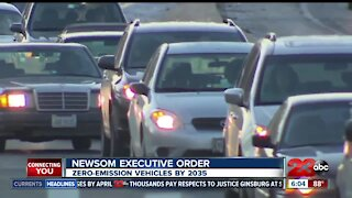 Governor Newsom issues executive order: zero-emission vehicles by 2035