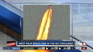 Mysterious object with huge trail of fire spotted above Florida beaches New Year's Day