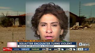 Neighbors want help after alleged squatter situation turns violent - Video