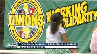 Laborfest 2017 held on Summerfest grounds - Video