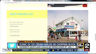 Iconic ice cream parlor may face wrecking ball - Video
